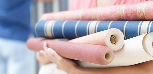 renovieren richtig tapezieren in f nf schritten. Black Bedroom Furniture Sets. Home Design Ideas