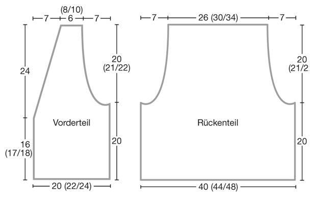 Strickmuster: Strickweste mit Persianermuster stricken | BRIGITTE.de