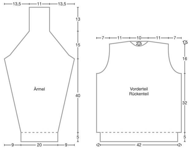 Strickmuster: Pullover mit Zopfrautenmuster stricken | BRIGITTE.de