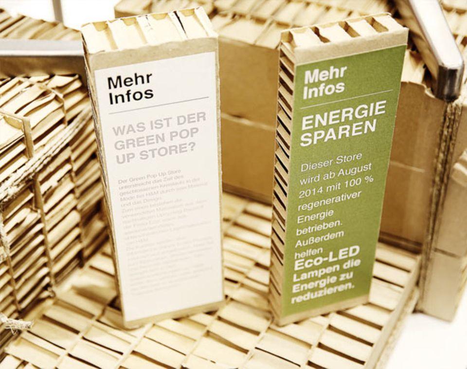 H&M eröffnet Green Pop-Up Store