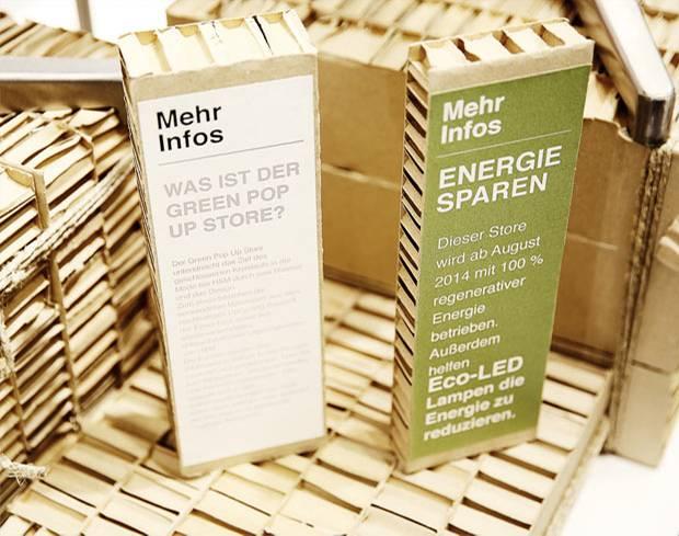Nachhaltigkeit: H&M eröffnet Green Pop-Up Store