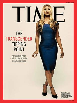 Transsexualität: Laverne Cox: Das erste Transgender-Cover-Model