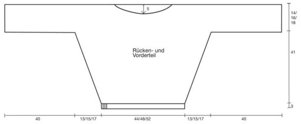 Weinroter Pullover - Strickanleitung und Muster