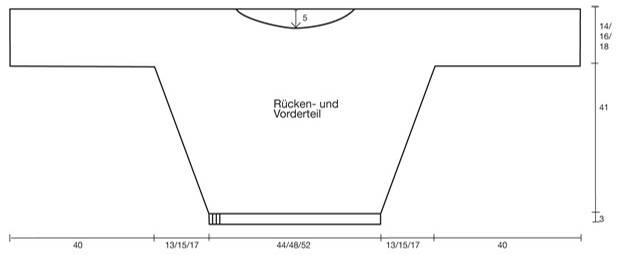Strickmuster: Weinroter Pullover - Strickanleitung und Muster