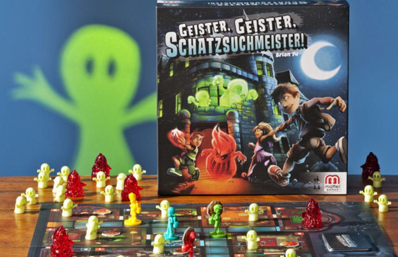 """Spannender Spielspaß: """"Geister, Geister, Schatzsuchmeister"""""""