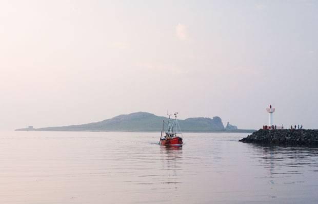 Fischer-Romantik auf der Halbinsel Howth.