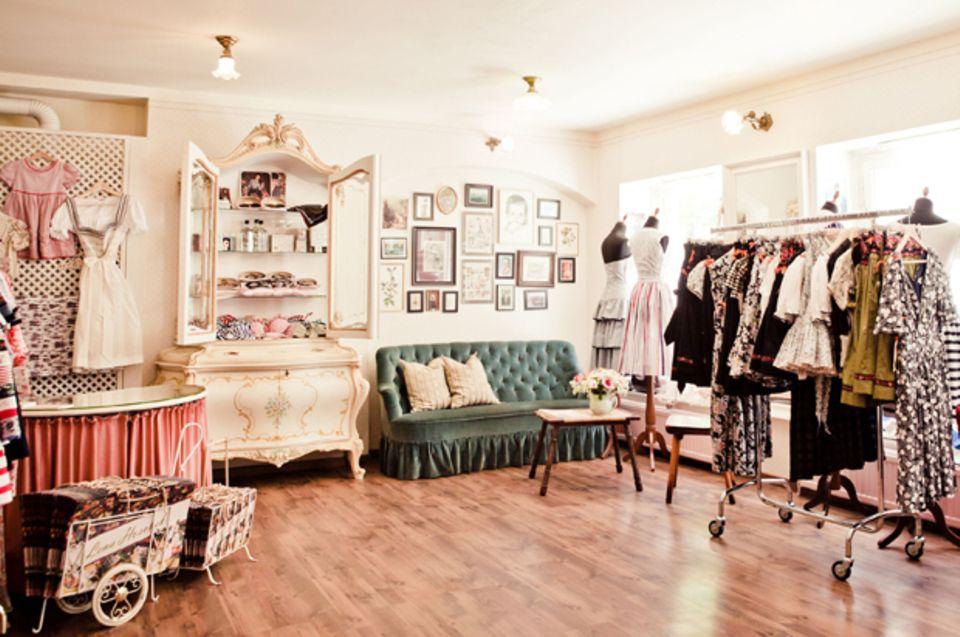 Der Laden der Wiener Mode-Designerin Lena Hoschek