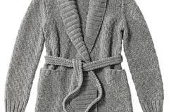 Jacke im Perlmuster: Eine Anleitung zum Nachstricken