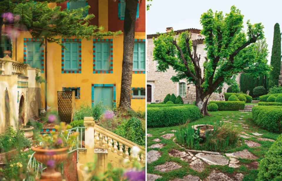 Jardin Fontana Rosa & Château de Gourdon