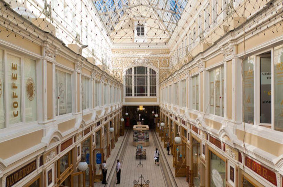 """Kleinod und Shopping-Paradies von 1848: Das Einkaufszentrum """"Passage"""""""