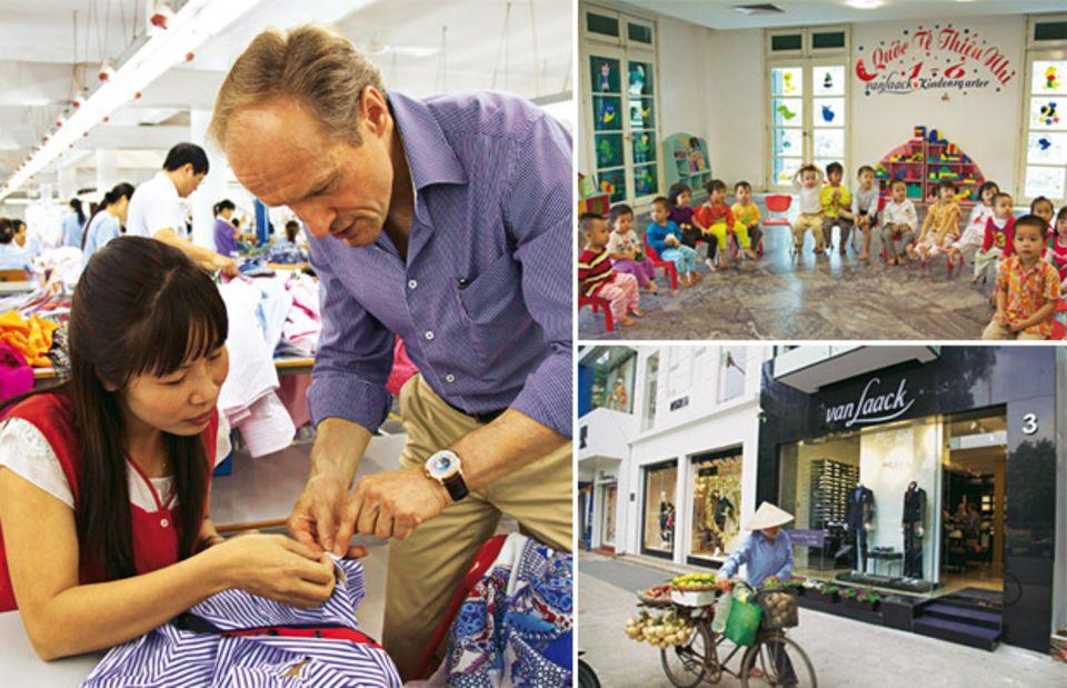 Auf Tuchfühlung: So wird Mode in Vietnam produziert
