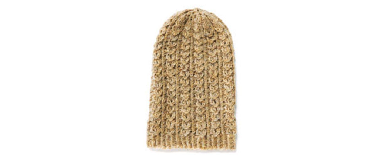 Mütze mit Zopfmuster stricken - eine Anleitung