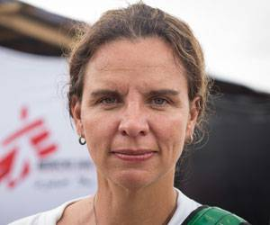 Ebola-Epidemie in Westafrika: Anja Wolz