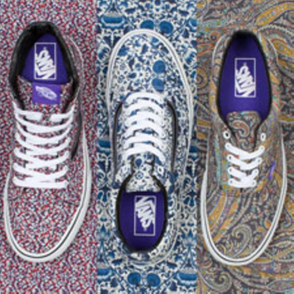 Vans x Liberty Sneaker - neue Kollaboration