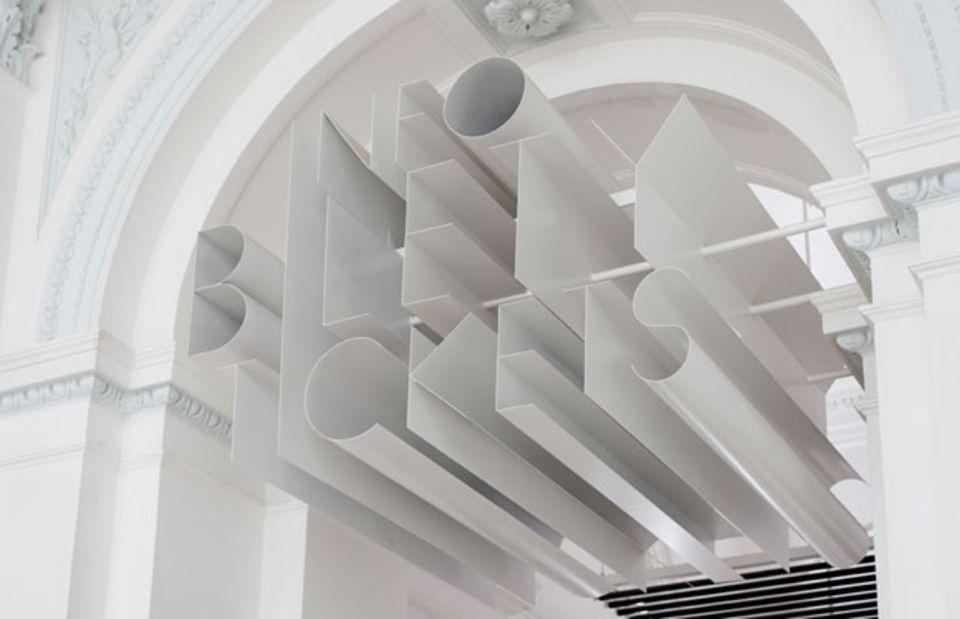 "Neue Kunst in klassizistischem Gebäude: die ""Zacheta Gallery"""
