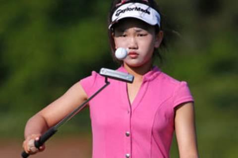 Die elfjährige Lucy Li startet bei den US Open