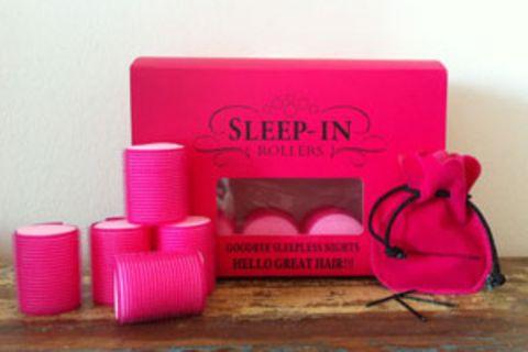 """""""Sleep-in-rollers"""" für Locken im Schlaf"""