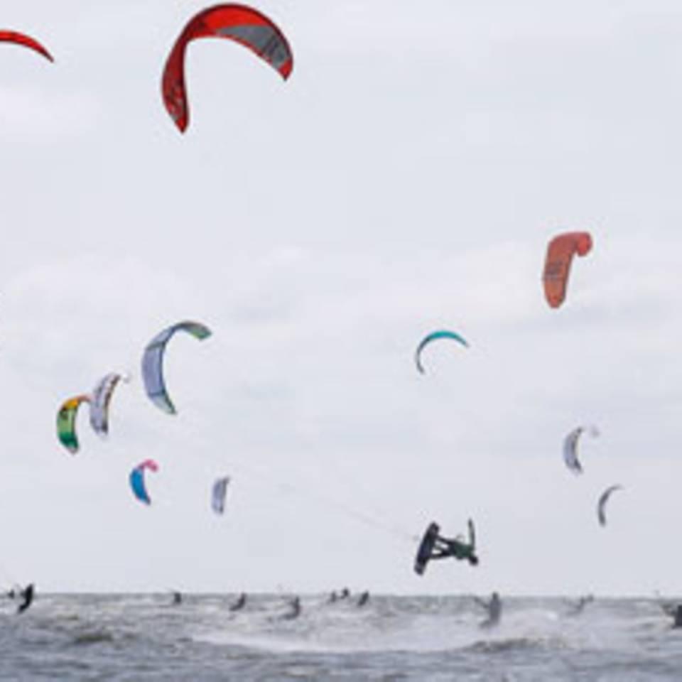 Die schönsten Bilder vom Kitesurf World Cup