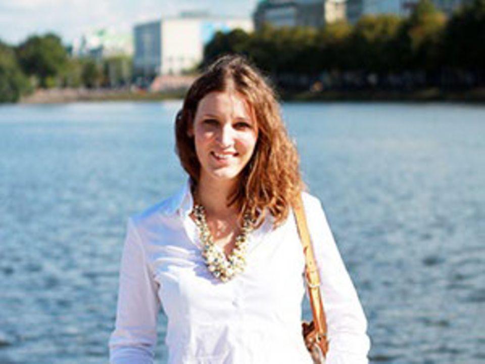 """Hannah Frey ist Gesundheitswissenschaftlerin aus Leidenschaft und bloggt auf Projekt: Gesund leben über Ernährung, Sport und Entspannung - also alles rund ums Thema """"Gesund leben""""."""