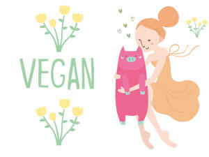 Vegan leben - alle Rezepte und Infos