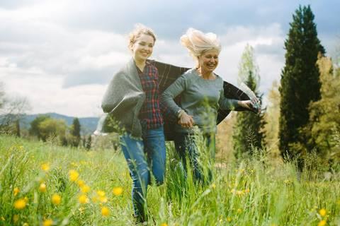 Schlank bleiben: Mit 60 öfter mal was Neues