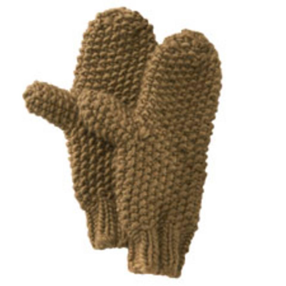 Perlmuster-Handschuhe stricken