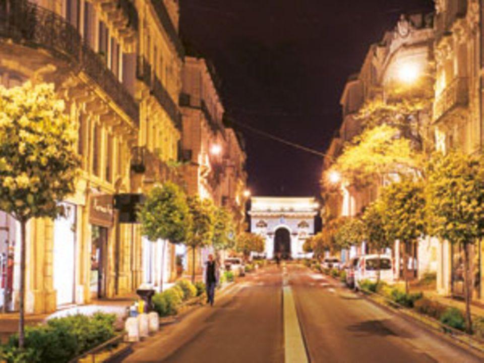 Rue Foch in Montpellier