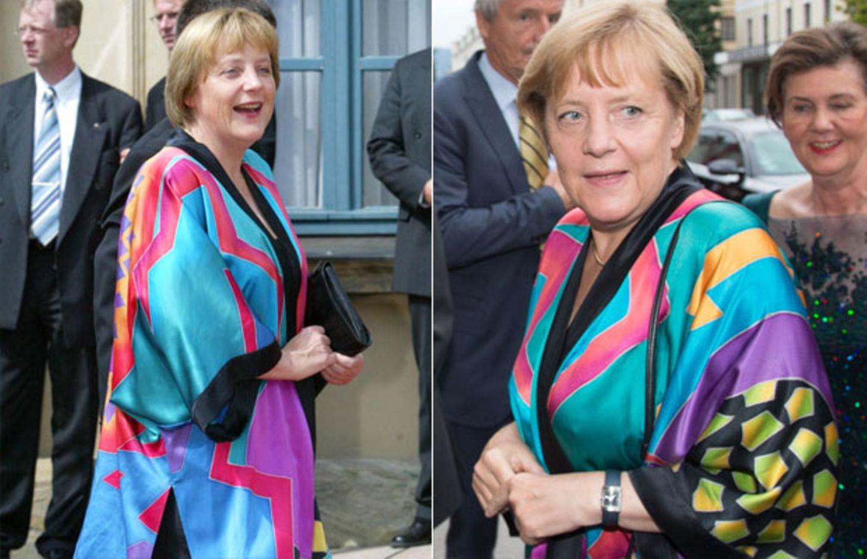 Der Kimono der Kanzlerin - warum Angela Merkel dieses Kult-Teil so liebt