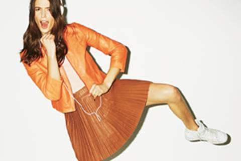 Leder-Mode für den Sommer