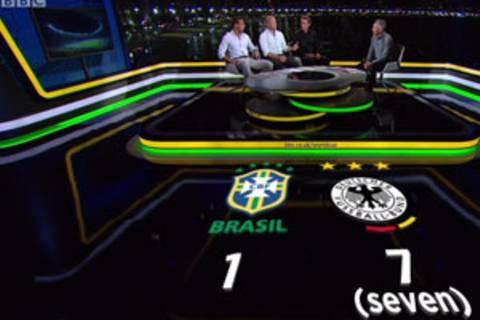 Deutschland-Brasilien: Die Glorreichen Sieben