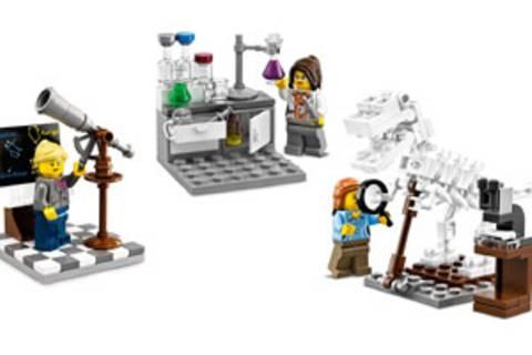 Auch bei Lego gibt's jetzt Wissenschaftlerinnen