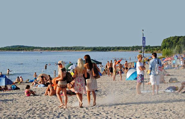 Strandvergnügen am Cospudener See