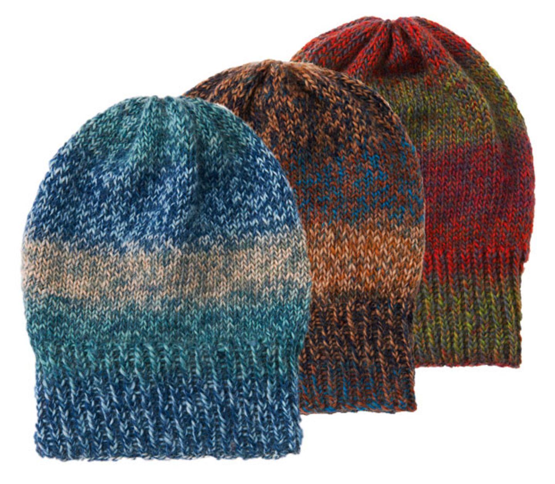 Melierte Mütze stricken - Anleitung für Anfänger