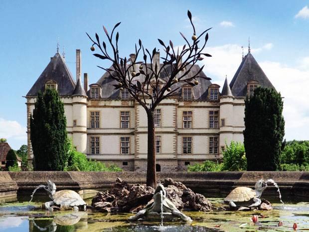 Im Schloss Comartin ließ es sich schon im 17. Jahrhundert gut Leben