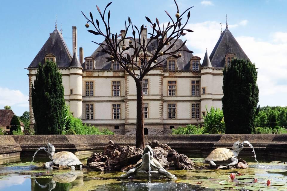 Burgund: Ein Château geht noch!