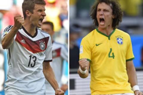 Deutschland vs. Brasilien: Auf Instagram zeigen die Fußballer Emotionen