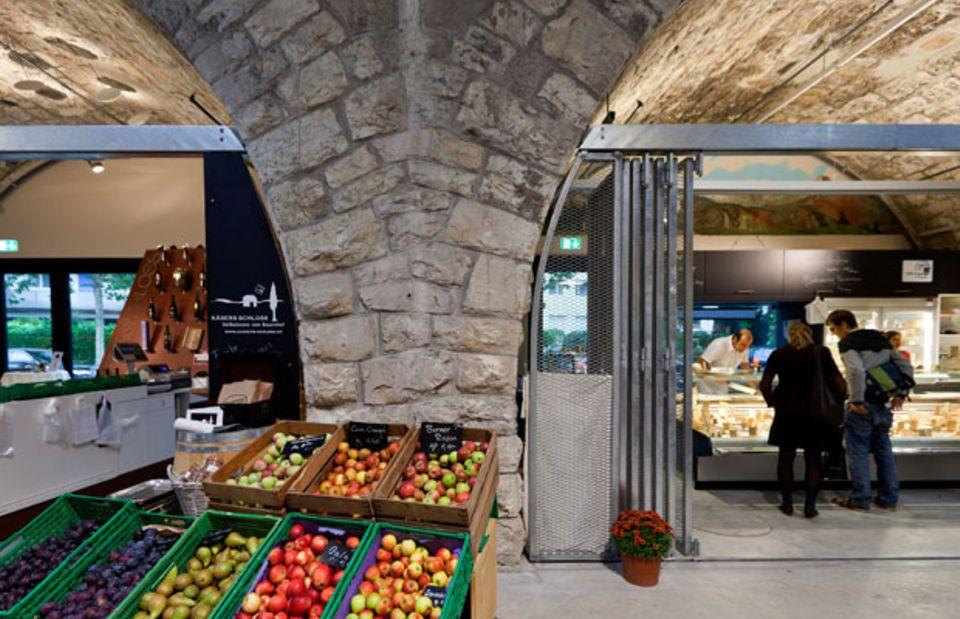 Stopp für den Picknick-Einkauf: Die Markthalle Zürich