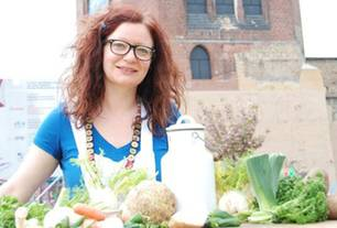 """Schnippelpartys: Talley Hoban: """"Ich zeige den Leuten, wie sie auch die Stiele vom Brokkoli verwerten können"""""""