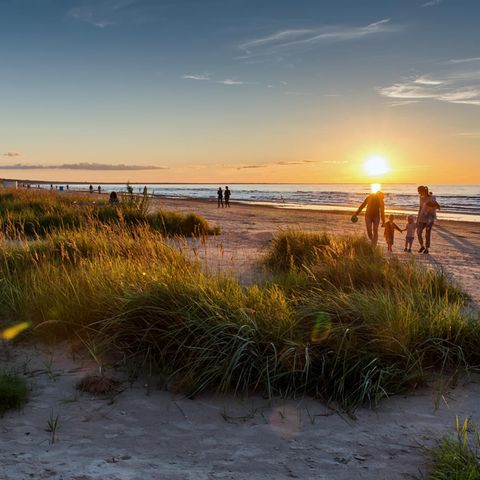 Ein Platz am Meer: Schöne Hotels an der Ostsee