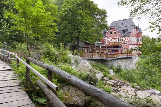 """Deutschland: Fast am Ziel: Das Gasthaus """"Steinerne Renne"""" im Harz"""