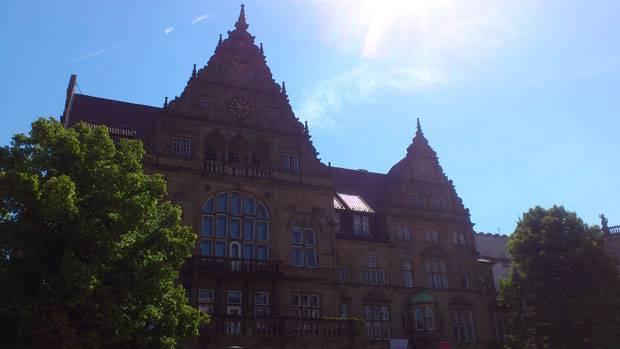 60 Stimmen: Bielefelder Rathaus