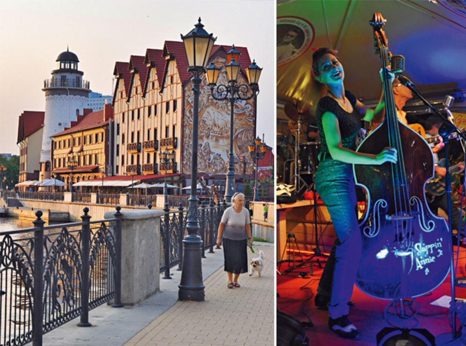 Kaliningrads Strandpromenade & das Rigaer Nachtleben