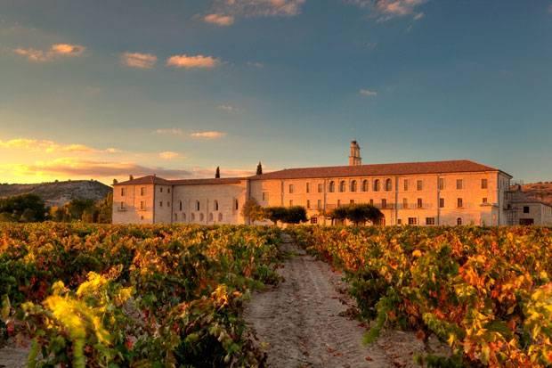 """Schon die Mönche bauten hier im 18. Jahrhundert Wein an: die """"Abadía Retuerta""""."""