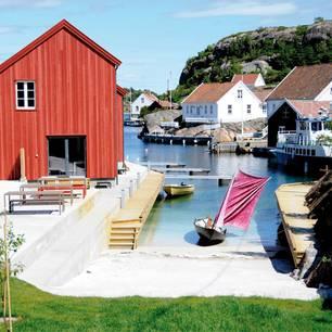 Winzige Insel in Süd-Norwegen: Ny-Hellesund