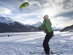 Wintersport: Selbstversuch Snowkiten: Ab in die Powerzone
