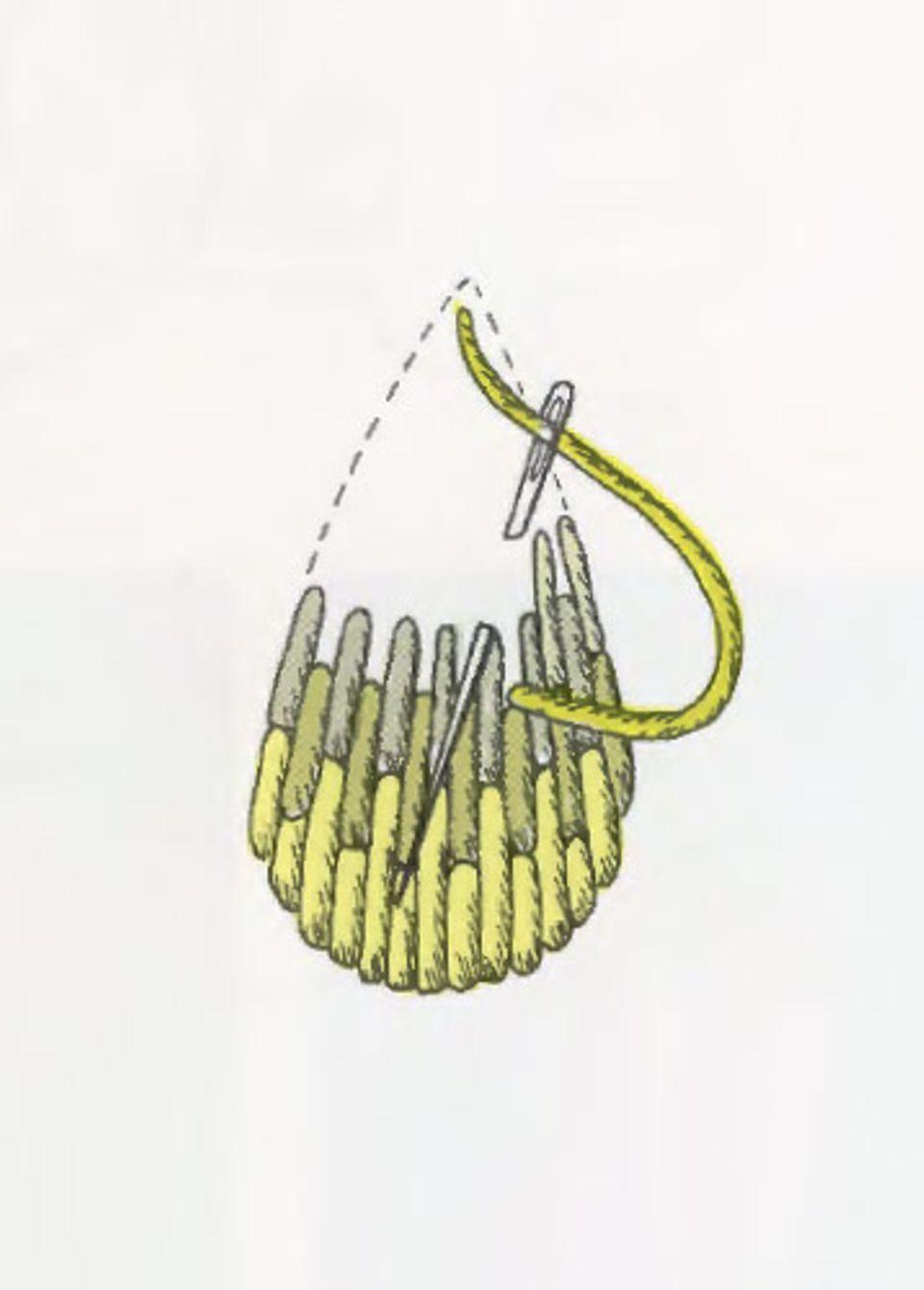 Sticken lernen: Nadelmalerei
