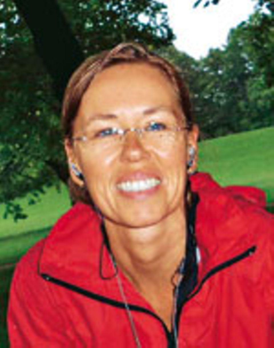 Alles am Fluss: Susanne Stellwagen radelte u. a. entlang der Elbe, mit Stopp in Wittenberg