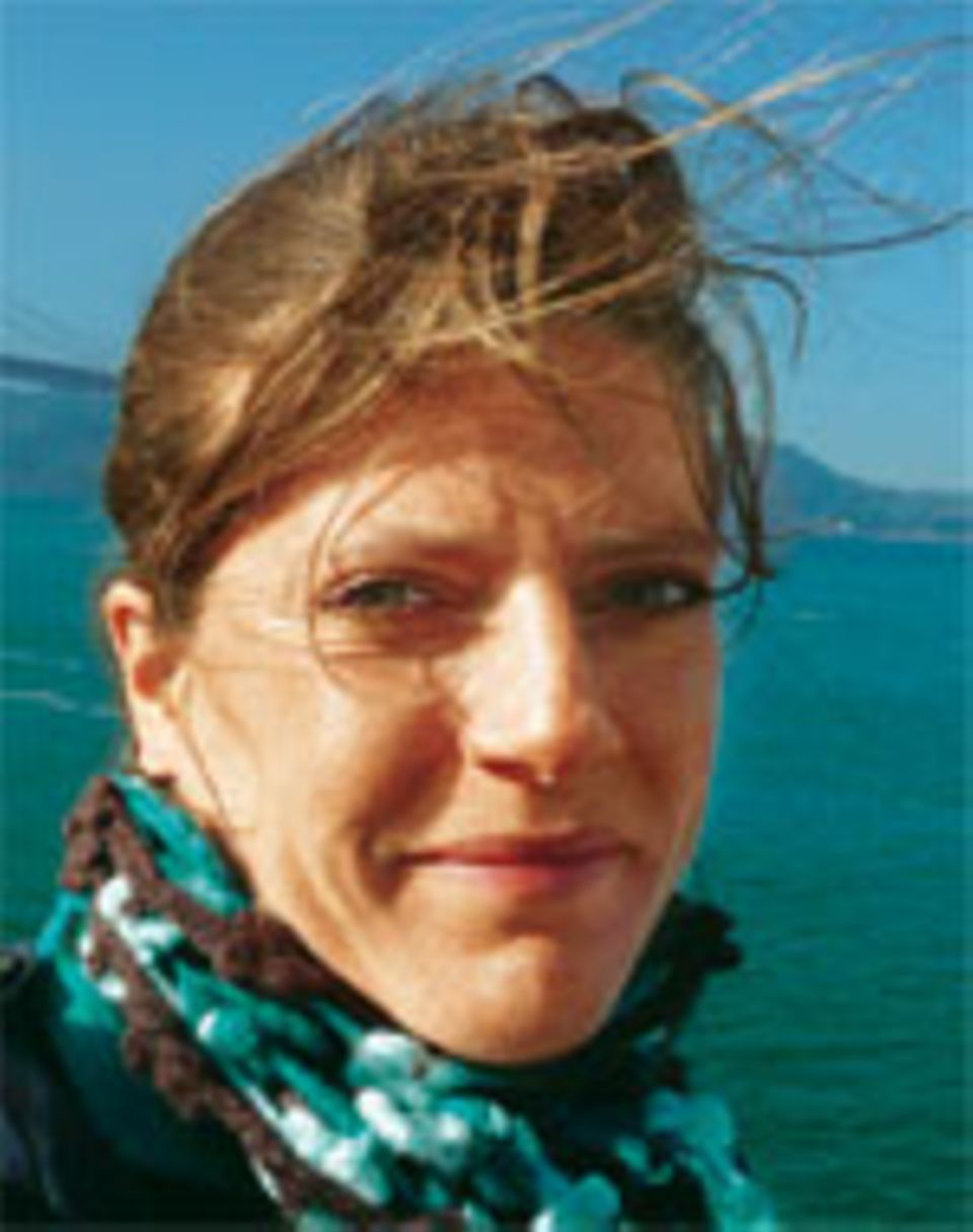 Über den Dingen: Nadine Oberhuber besuchte auch den berühmten PotalaPalast in Lhasa