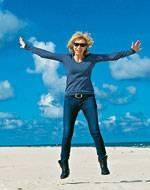 Allein verreisen: Strand, Sport und mehr: BRIGITTE-Mitarbeiterin Vera Sandberg machte am Jandia Playa zum ersten Mal Cluburlaub