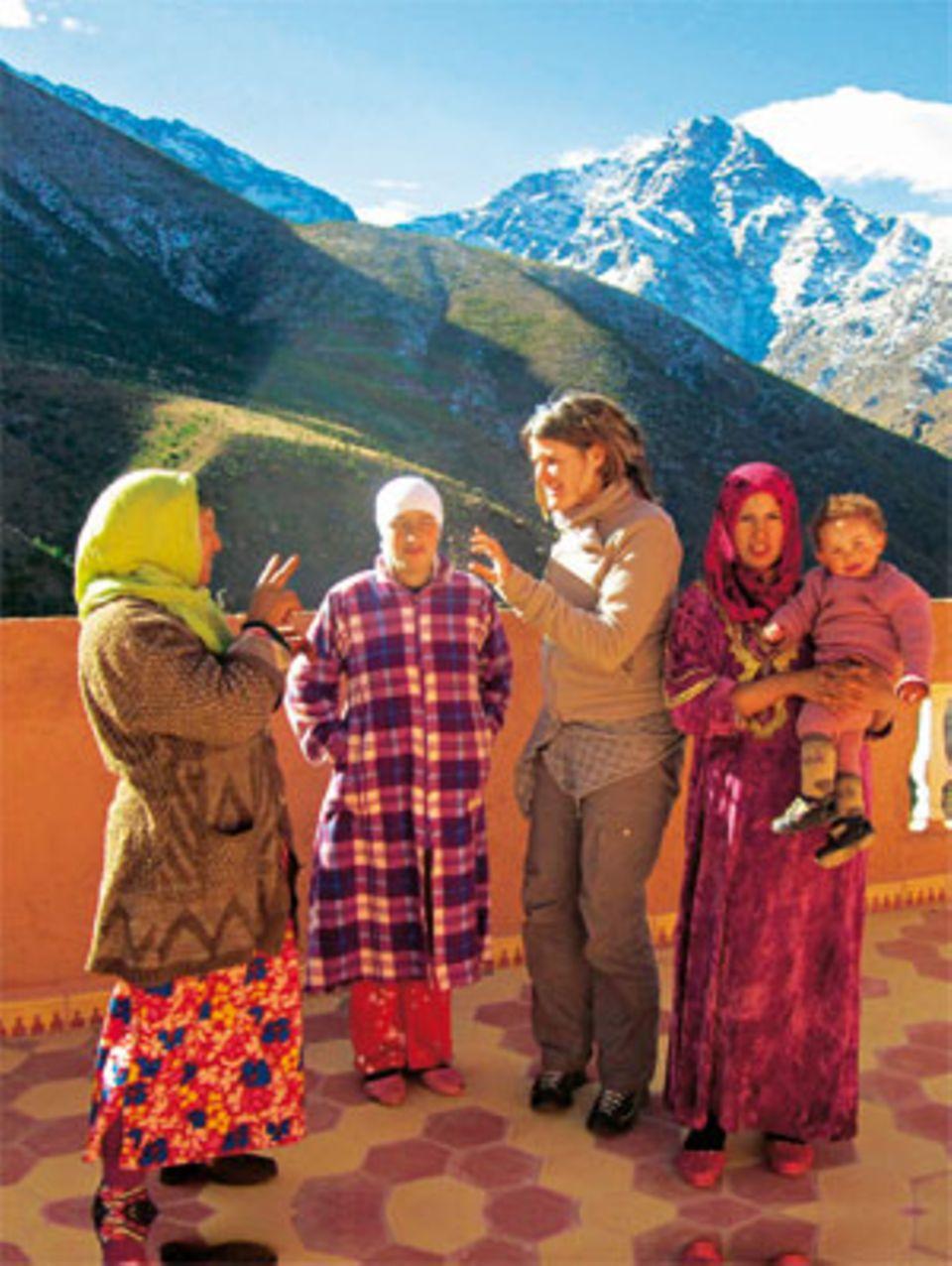 Unvergesslich: Begegnung mit einer Berberfamilie im Hohen Atlas